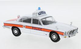 """Jaguar XJ Series II 4.2 1973-1979 RHD """"Thames Valley Police weiss / orange"""""""