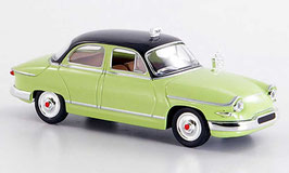 Panhard PL 17 1959-1965 TAXI hellgrün / schwarz