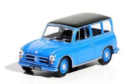 AWZ P70 Kombi 1955-1959 blau / schwarz
