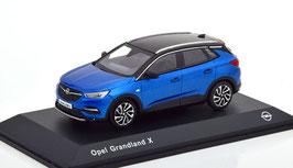 Opel Grandland X Phase I 2018-2021 blau met. / schwarz