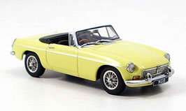 MG B Roadster MK II 1967-1972 RHD Pale Primrose yellow