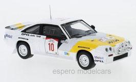 Opel Manta 400 #10 Opel Euro Team Rallye WM Safari Rallye 1984 R. Aaltonen / L. Drews