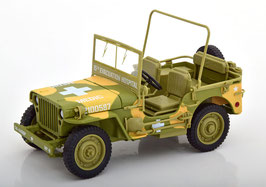 "Jeep Willys MB 1942-1945 ""Medical US Army camourflage"""