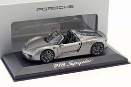 Porsche 918 Spyder 2013-2015 Liquid Metal silber