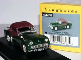 Triumph TR3A Roadster 1957-1962 British Racing Green