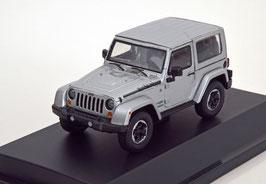 Jeep Wrangler 2014 silber met. / Hardtop abnehmbar!