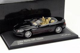 Aston Martin DB9 Volante Phase II 2008-2012 Jet Black