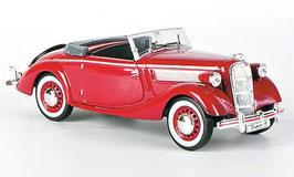 Opel Super 6 Cabriolet 1937-1938 dunkelrot