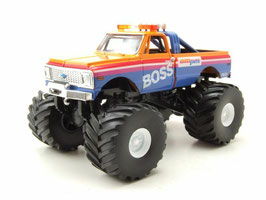 "Chevrolet K-10 Monster Truck 1972 ""AM/PM BOSS orange / pink / blau"""
