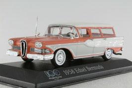 Edsel Bermuda Station Wagon 1957-1958 pink / weiss / grau