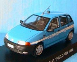 "Fiat Punto I 60 S Phase I 1993-1997 ""Polizia hellblau / weiss"""