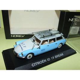 """Citroën ID 19 Break 1959-1969 """"RTF"""" hellblau / weiss"""