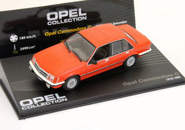 Opel Commodore C 1978-1982 hellrot