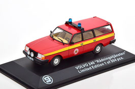 "Volvo 240 Kombi 1984-1993 ""Radningstjansten Feuerwehr rot / gelb"