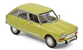 Citroën Ami 8 Club 1969-1978 gelb