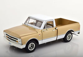 Chevrolet C-10 Fleet Side Pick Up 1968 gold met. / weiss