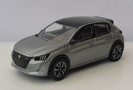 Peugeot 208 II seit 2019 grau met. / schwarz