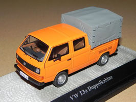 VW T3a Pick Up Doka 1979-1985 orange / grau