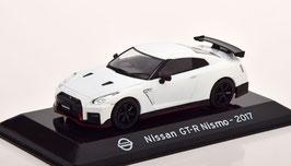 Nissan GT-R Nismo R35 seit 2015 RHD weiss / schwarz