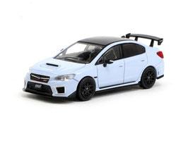 Subaru WRX STi S208 2018 hellblau / schwarz