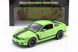 Ford Mustang Boss 302 2012-2013 grün / schwarz