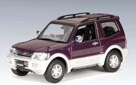 Mitsubishi Pajero 1999-2006 SWB purple met.