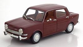 Simca 1000 LS Phase II 1968-1976 dunkel rot