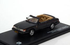 Saab 900 Cabriolet 1986-1994 schwarz