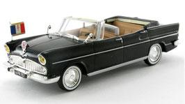Simca Presidentielle Cabriolet 1959 schwarz