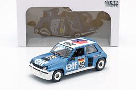 Renault 5 Turbo #49 European Cup 1981 Walter Röhrl blau met. / weiss