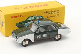 """Ford Taunus 17M P3 1960-1964 """"Polizei Deutschland"""" dunkelgrün / weiss"""