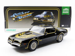 "Pontiac Firebird Trans Am II Phase III 1977-1979 ""Film Smokey and the Bandit 1977 schwarz / gold"