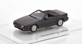 Mazda RX-7 II Convertible 1988-1992 schwarz