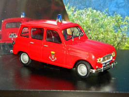 Renault 4 L 1963 Fire Service rot