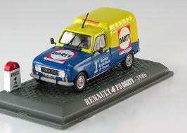 "Renault 4 F6 Fourgonette 1975-1990 ""DARTY"" dunkelblau / gelb"