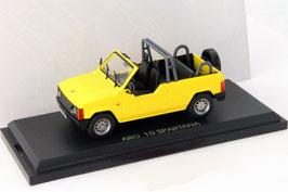 ARO 10 Spartana Cabrio 1997-2006 gelb  1:43 von DeAgostini