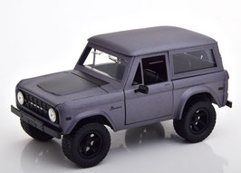 Ford Bronco Phase II 1972-1976 matt-grau