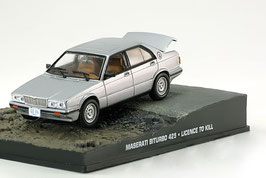 Maserati Biturbo 425 1989 silber met. James Bond 007 Edition