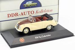 IFA F9 Cabriolet 468 1953-1956 beige / braun