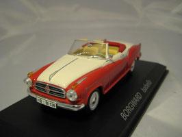 Borgward Isabella Cabriolet 1957-1962 rot / beige