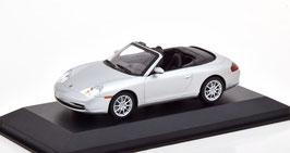 Porsche 911 / 996 Cabriolet Phase II 2001-2006 silber met.