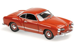 VW Karmann Ghia Coupé Typ14 1955-1967 rot