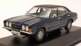 Ford Cortina MK III 2000 GT 1970-1976 Marine Blue / matt-schwarz