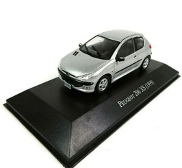 Peugeot 206 XS Phase I 1998-2003 silber met.