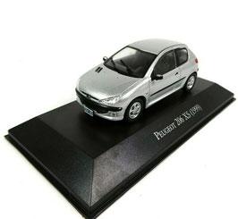Peugeot 206 XS Phase I 1998-2003 silber met.