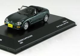 Suzuki Cauppuccino 1991-1997 RHD dunkelgrün met.