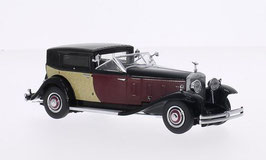 Rolls Royce Phantom II 1933 LHD schwarz / dunkelrot / beige