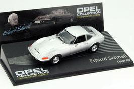Opel GT Coupé 1968-1973 silber met.