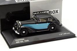 Hotchkiss 686 GS 1949 schwarz / hellblau RHD