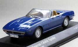 Maserati Ghibli Spider 1968-1973 blau met.